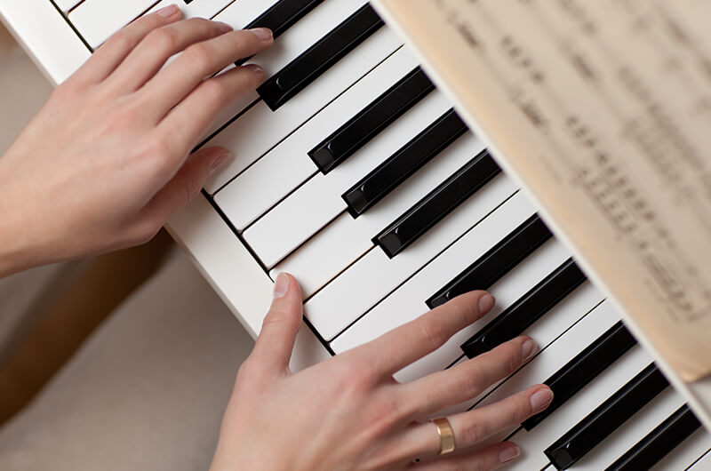 Four (4) 30 Min Weekly Virtual Piano Lessons