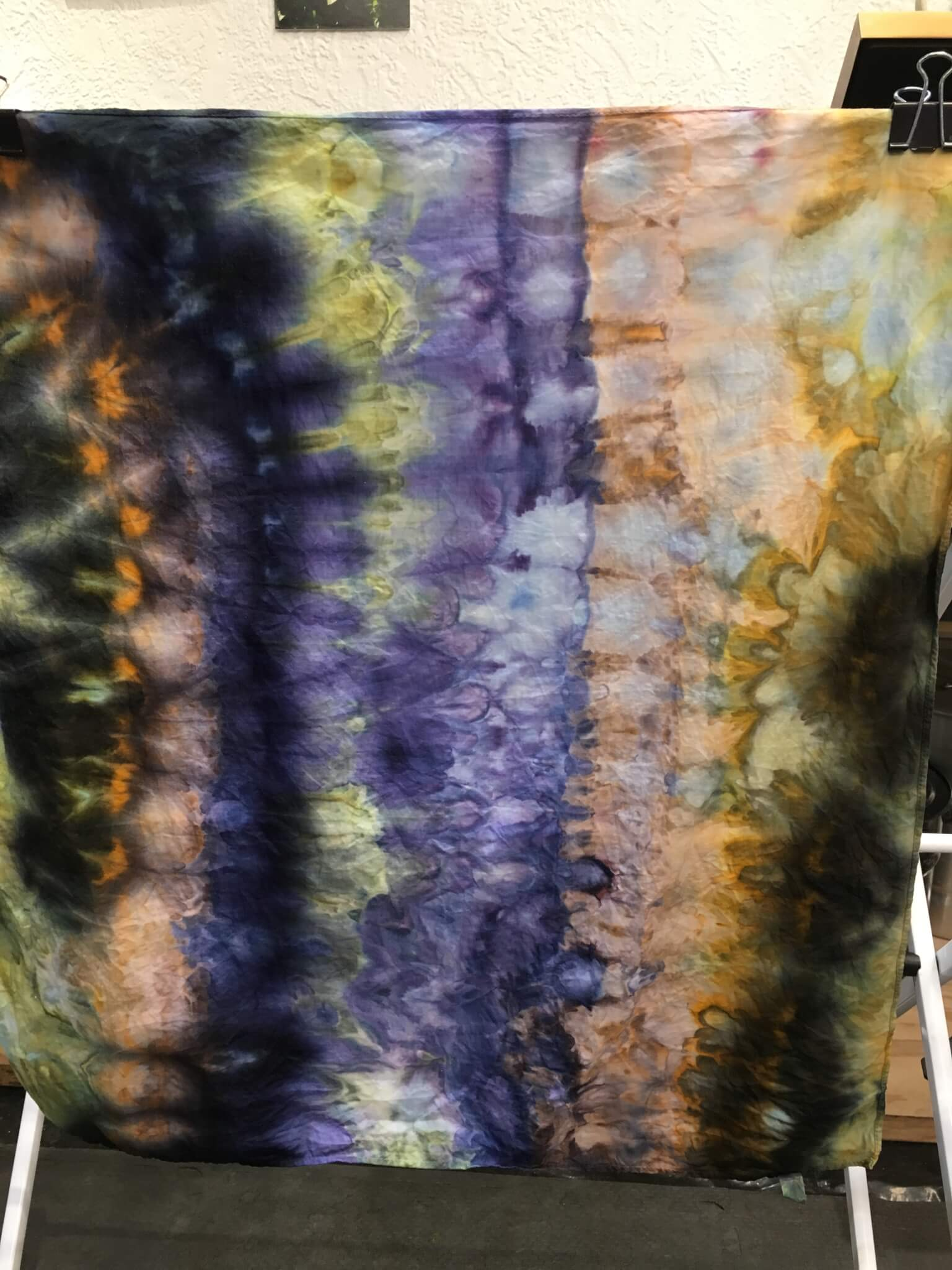 Ice Dyeing, Low Immersion Dyeing and Shibori
