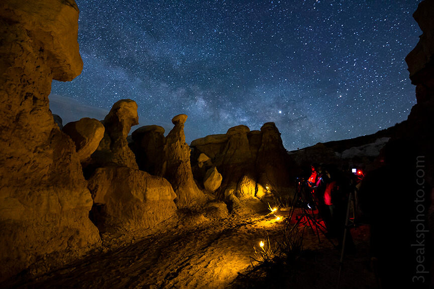 Night Sky Photography Workshop at the Paint Mines