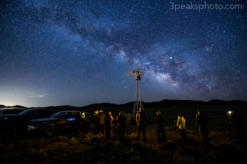 Night Sky Photography Workshop in Westcliffe, CO