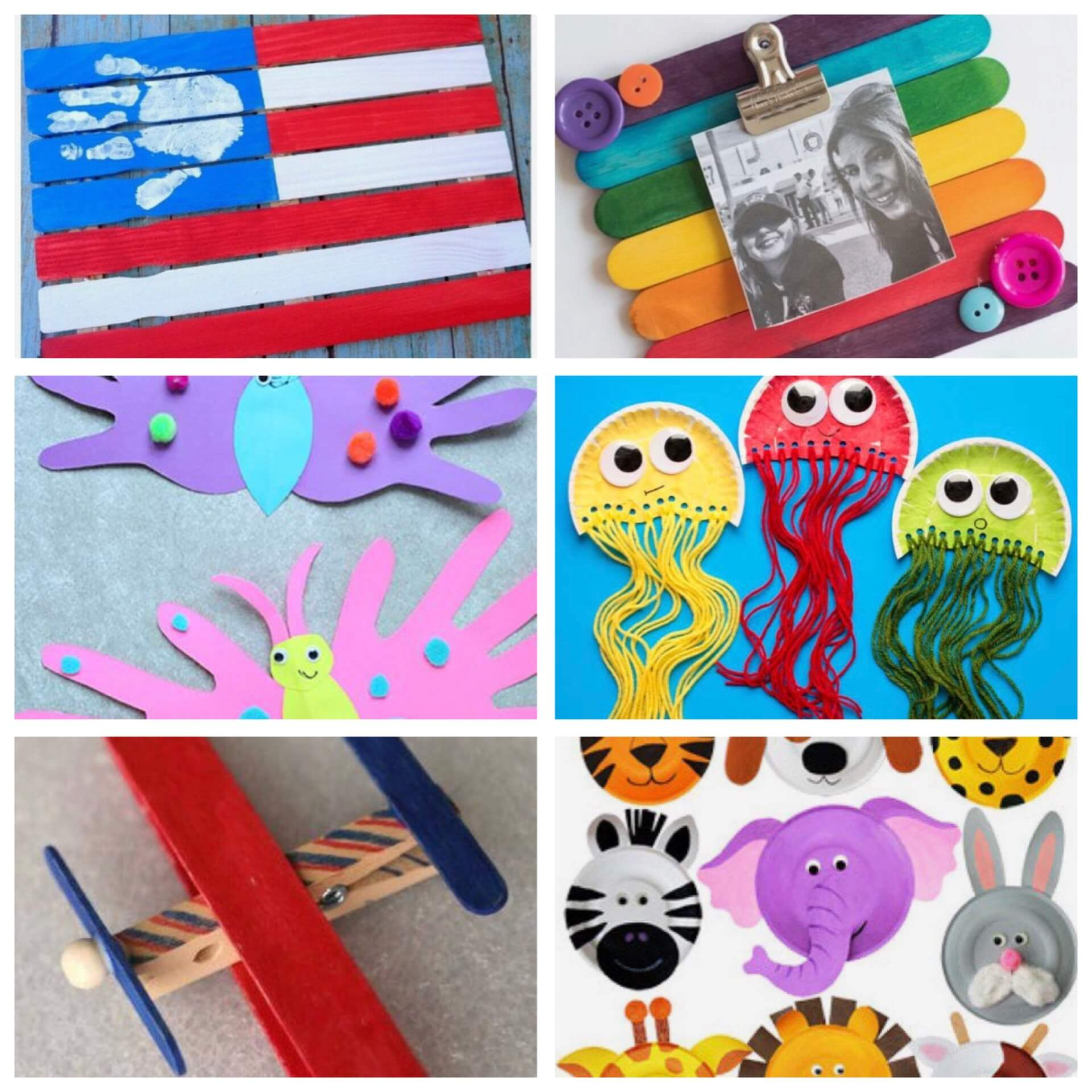 Expressive Arts Experiences. Fun Crafts for Kids!