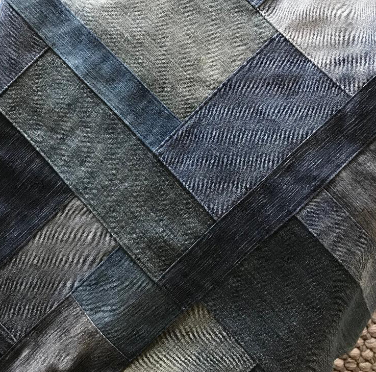 Upcycled Jeans Fabric