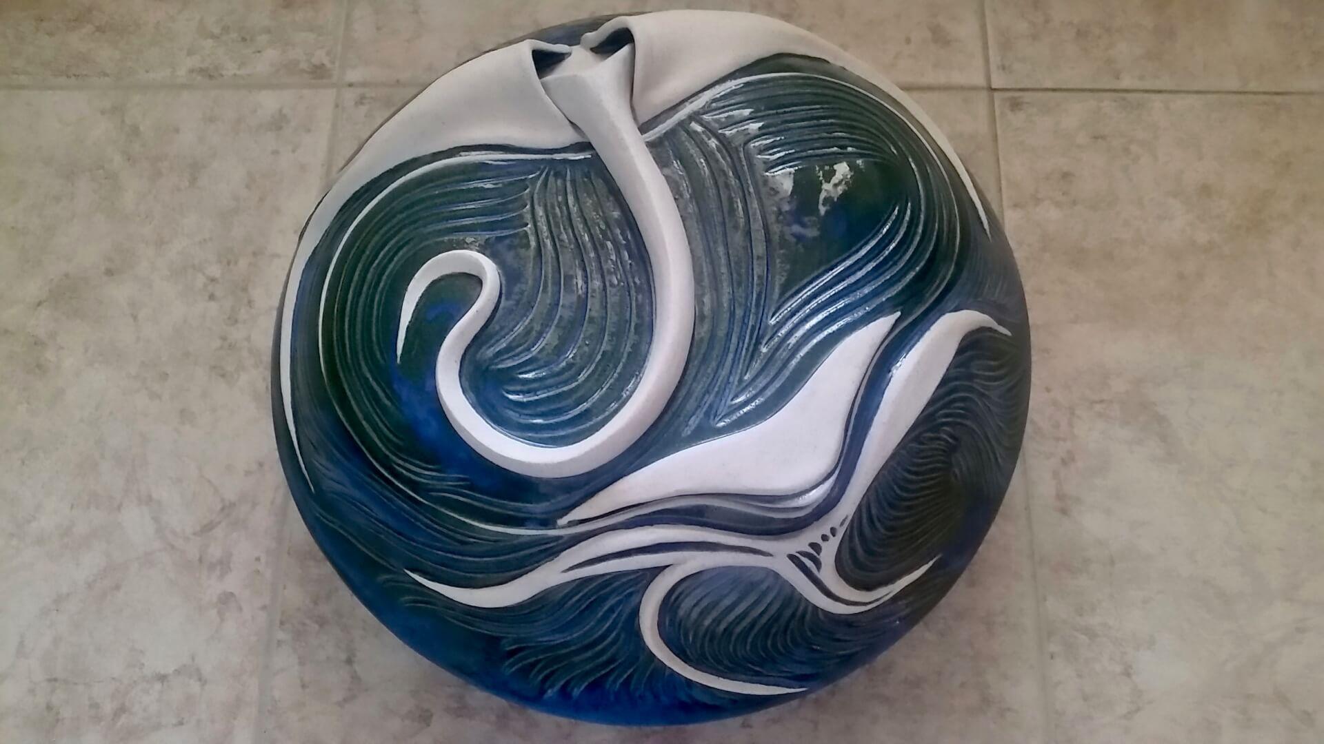 Hinged Clam Jar