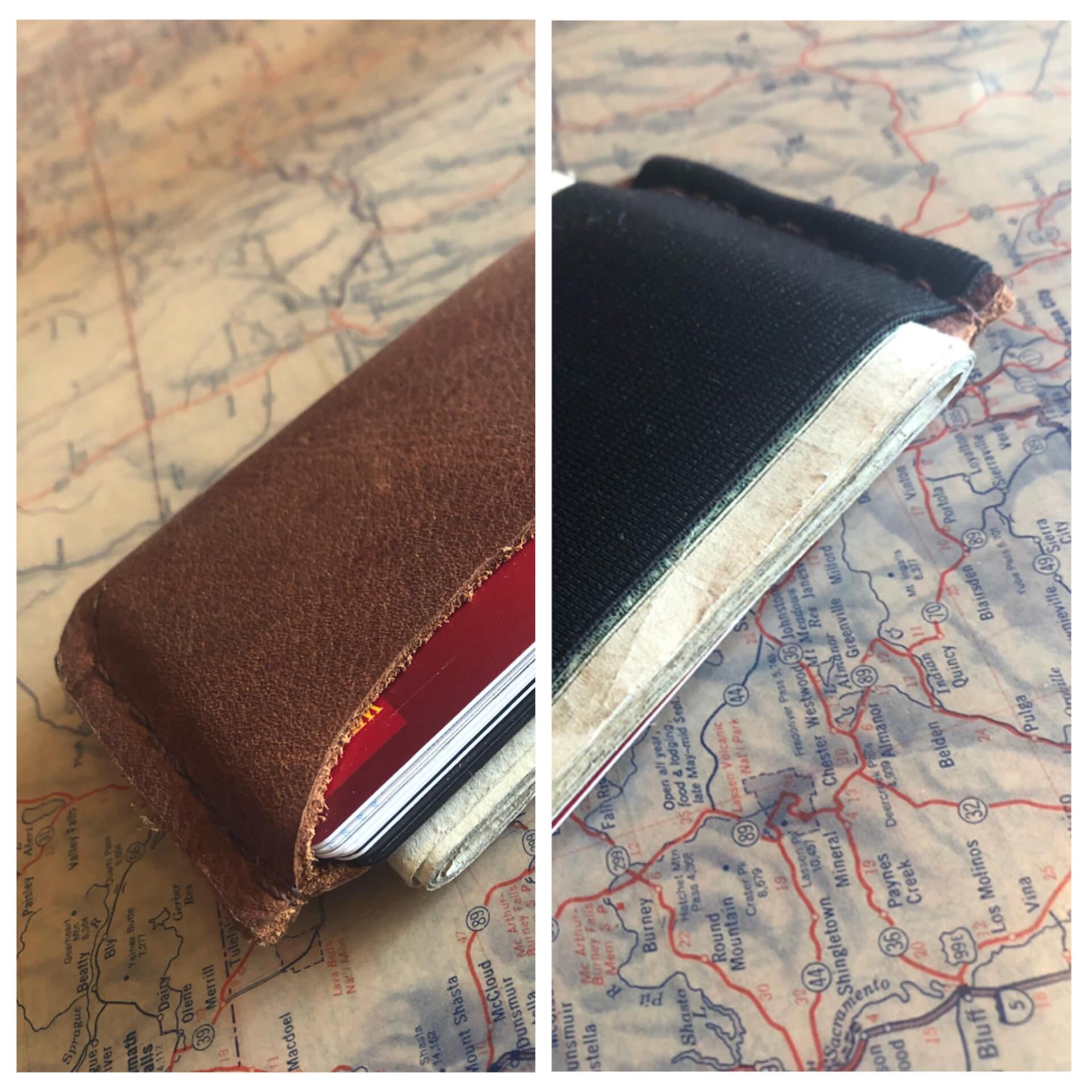 make&take a Leather Wallet