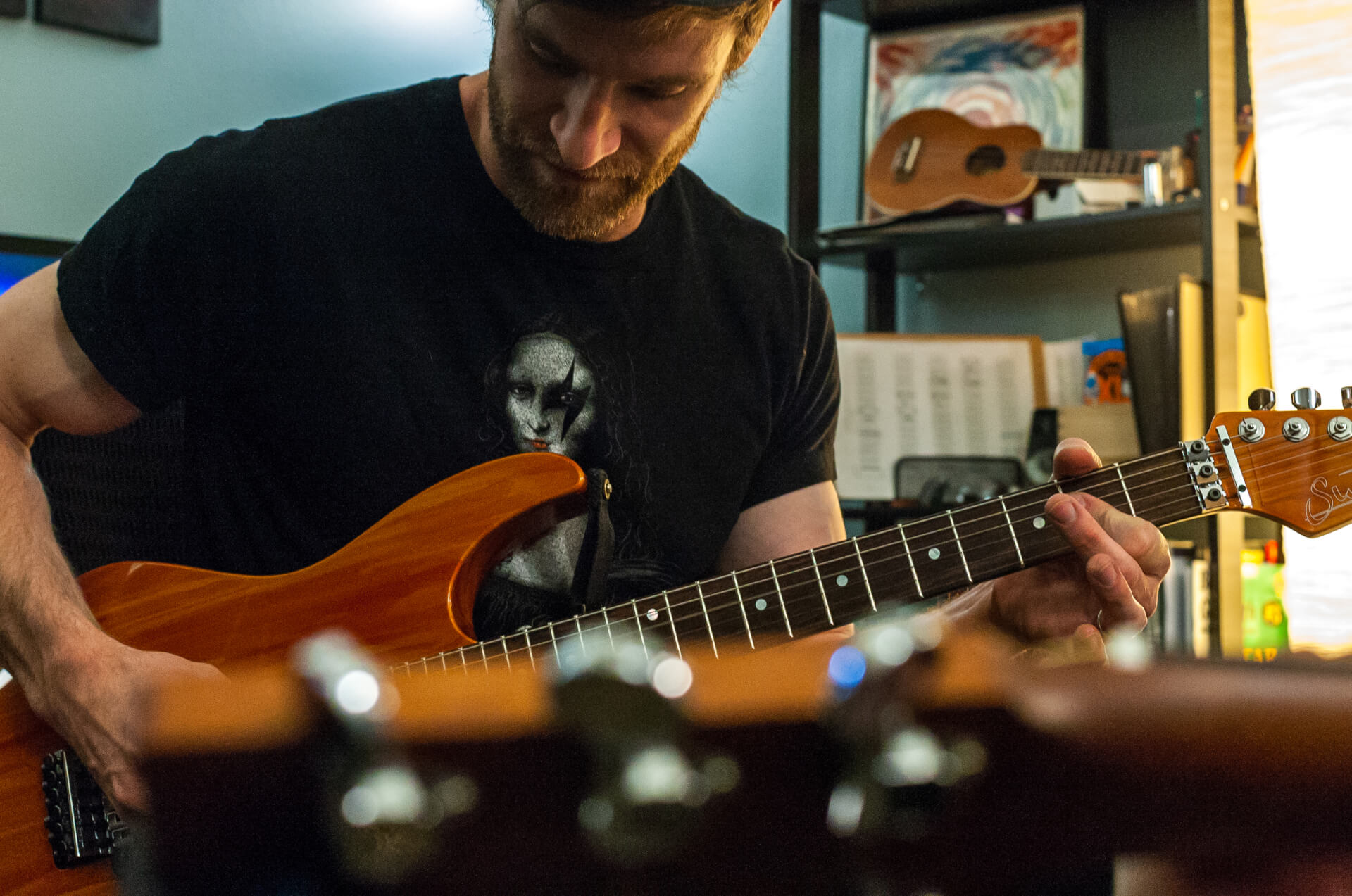 Four 1-hour Private Guitar Lessons (4 consecutive weeks)