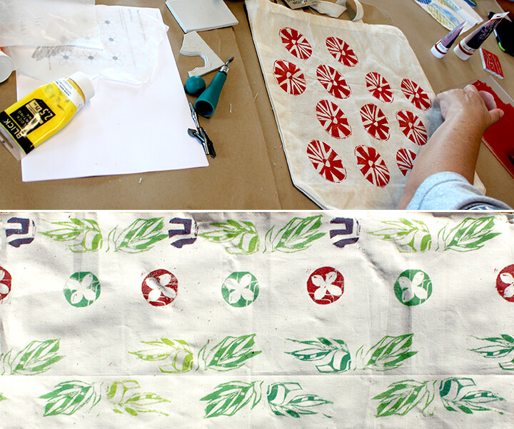 Block Printing for Fabric or Paper (One Session)